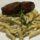 Penne ao Molho Gorgonzola com Filet Mignon